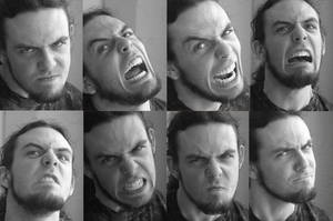 Harry Expression Pack Angry by KCretcher