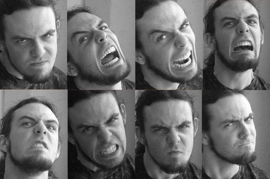 Harry Expression Pack Angry