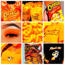 Cheetos PSD COLORING by Peachyxs