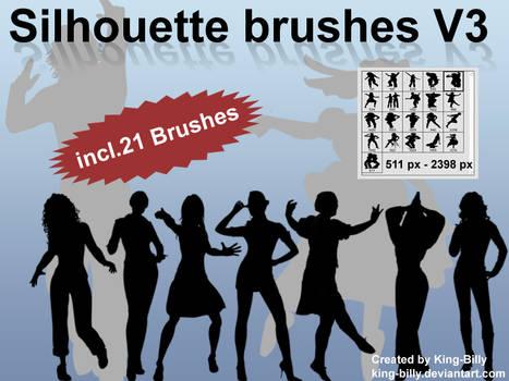 Silhouette brushes V3