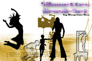 Silhouettes-Brushes by King-Billy