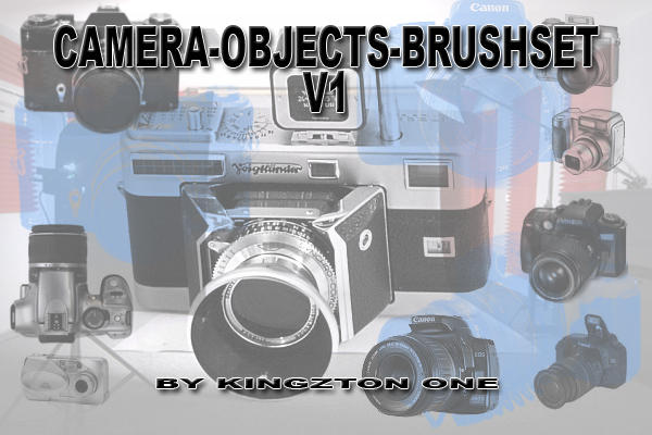 Photocamera-Brushes V1 by King-Billy