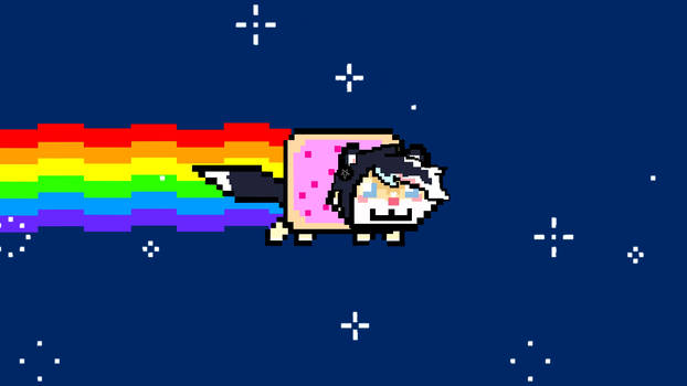 Baby- ANIMATED NYAN CAT YCH