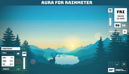 Aura 1.0 for Rainmeter by NiketanG