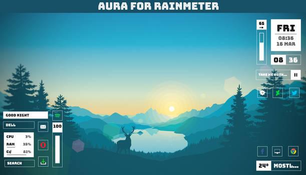 Aura 1.0 for Rainmeter