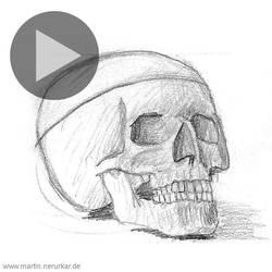 Facetober: Skull animation