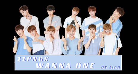 [PNG PACK]WANNA ONE 11PNGS