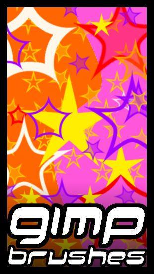 GIMP.Brushes::Stars by duskblue