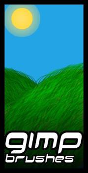 GIMP.Brushes::Grass