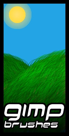 GIMP.Brushes::Grass by duskblue