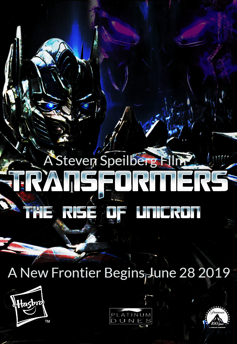 New Transformers 7 (2019) Teaser Poster Fan Made by