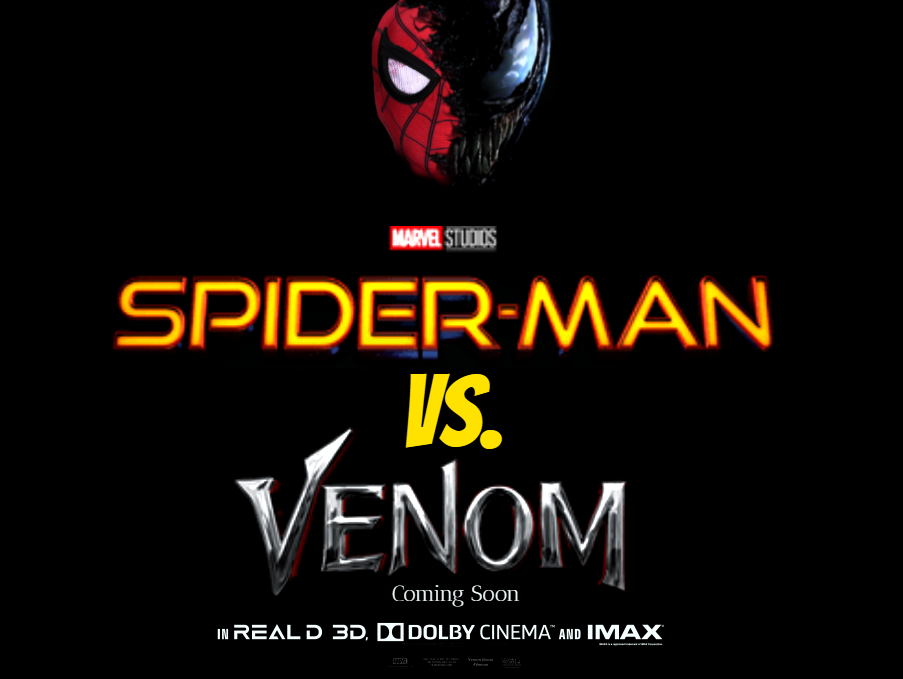 Spider Man Vs Venom Movie Logo Fan Made By Tylercluberlang On