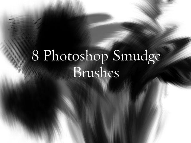 Smudge Photoshop Brushes by mcrvampire92