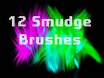 12 Smudge Brushes Set 2