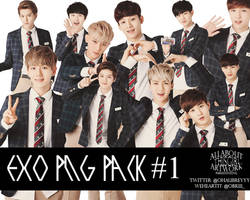 EXO PNG Pack # 1 by ParkSooYoong by AATG