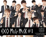 EXO PNG Pack # 1 by ParkSooYoong