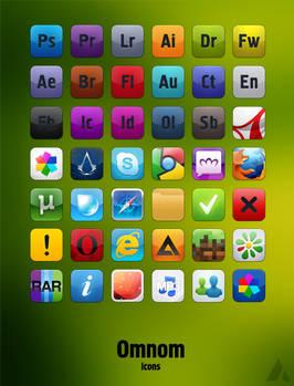 Omnom icons