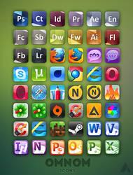 Omnom icons (remade)
