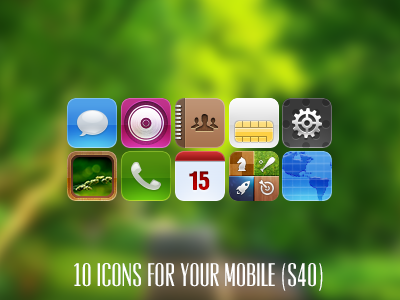 Mitters icons (mobile) by Ampeross