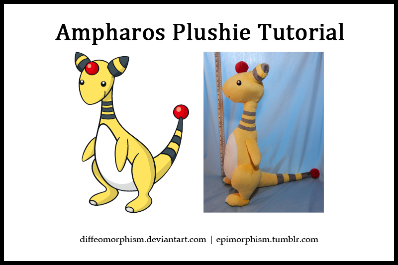 Ampharos Plush Tutorial