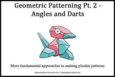 Geometric Patterning Pt. 2 - Angles and Darts by Diffeomorphism