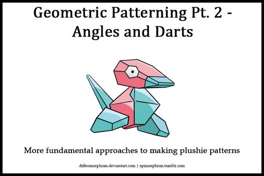 Geometric Patterning Pt. 2 - Angles and Darts