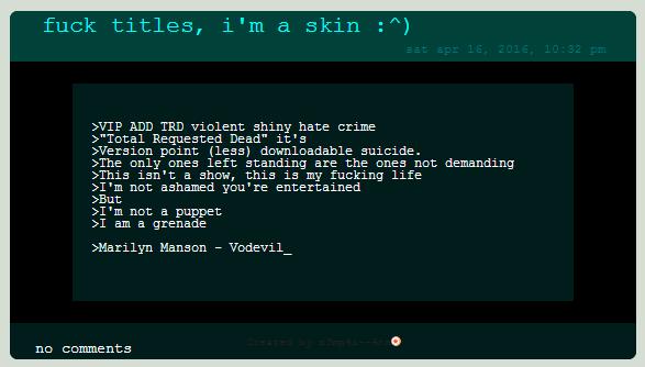 Free To Use Black N Blue Journal Skin By Mommana