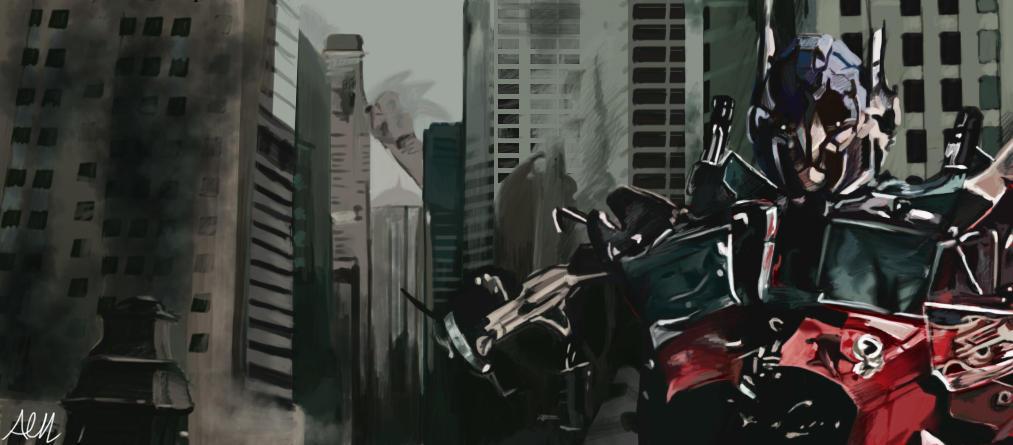 Optimus Prime by Modernerd