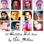 Christian Bale icons by NekoOrihime