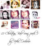 Christian Bale icon pack 2 by NekoOrihime