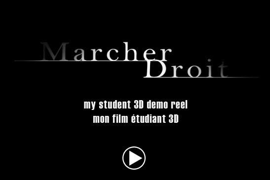 Marcher Droit by alx01