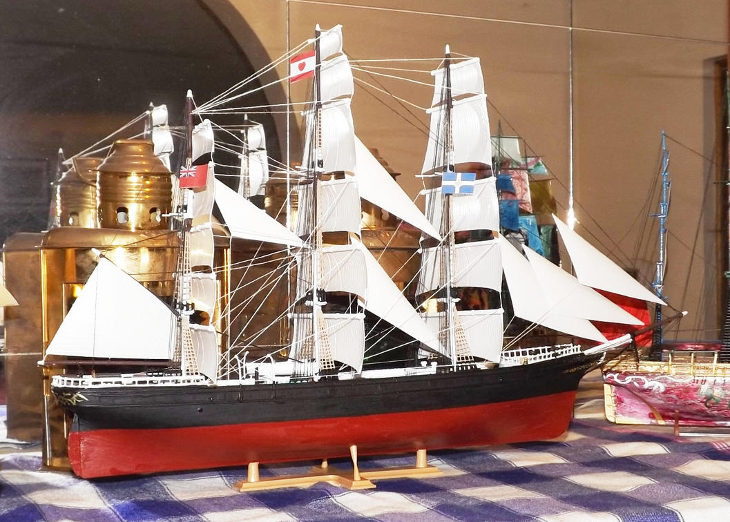 Model of the JP Cory Jute Clipper by phasai