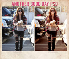 Another good day PSD by delicatepetals
