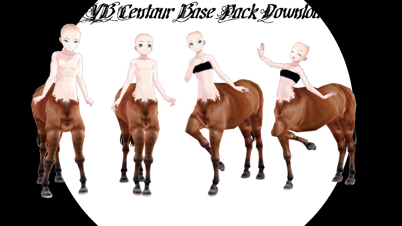 MMD YYB Centaur Base Pack Download by dianita98 on DeviantArt