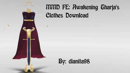 MMD FE:Awakening Tharja's Clothes Pack Download by MikuEvalon