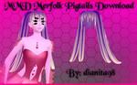 MMD Merfolk Pigtails Download