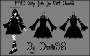 MMD Gothic Lolita Like Outfit Download by MikuEvalon