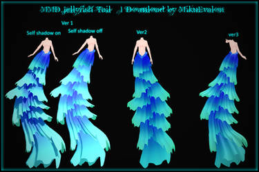 MMD Jellyfish Tail/Base #1 Download by MikuEvalon