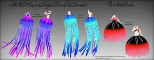 MMD Compass Jellyfish Tail/Dress Download
