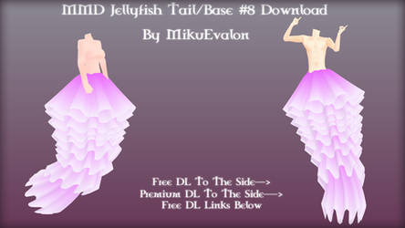 MMD Jellyfish Tail/Base #8 Download