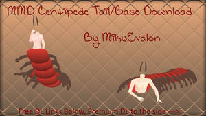 MMD Centipede Tail/Base Download
