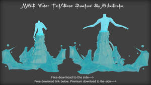 MMD Water Tail/Base Download
