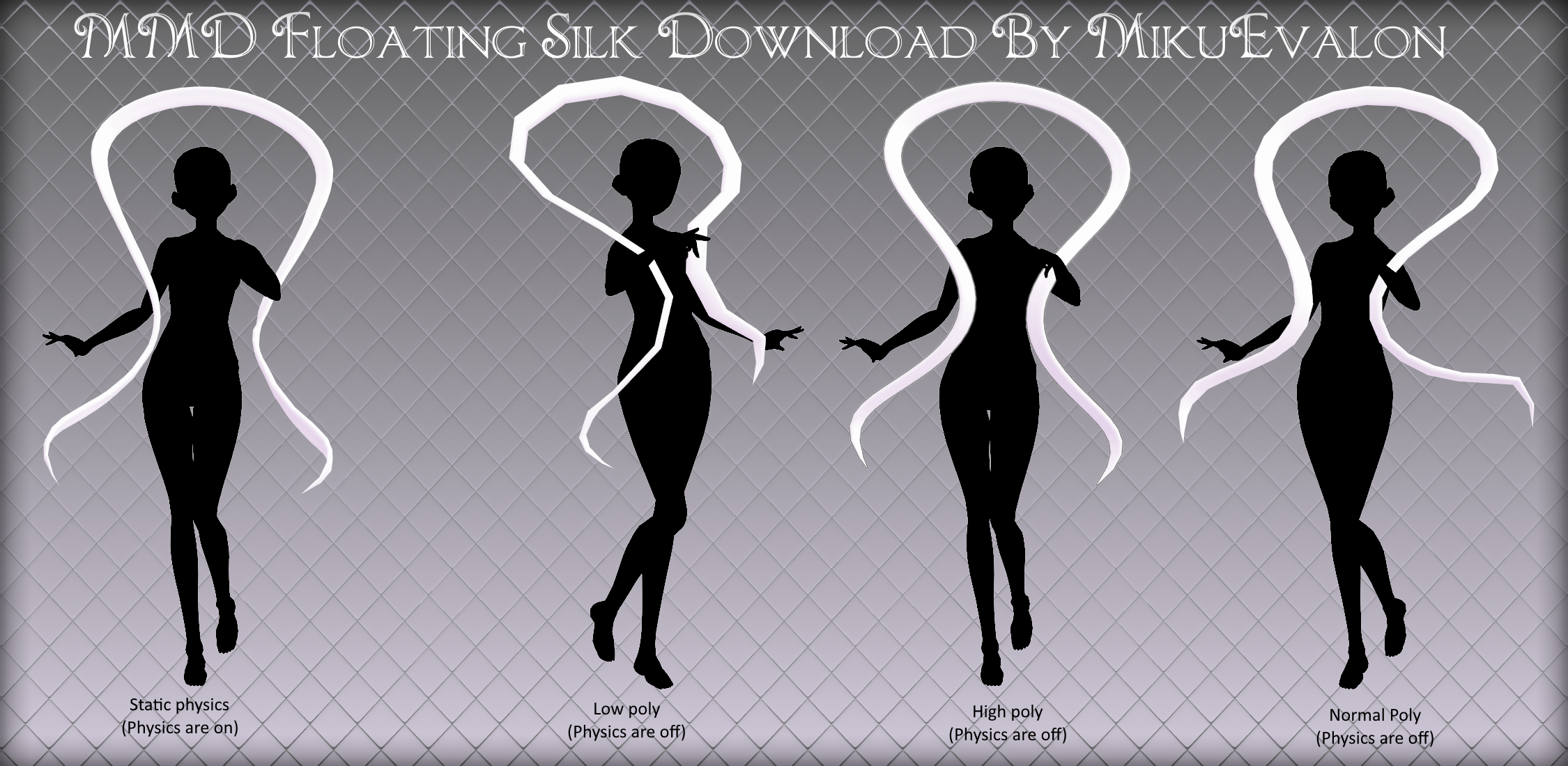 MMD Floating Silk Style#1
