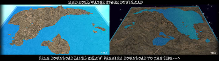 MMD Rock/Water Stage Download