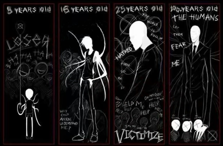 Slenderman x reader through the years by miss fluff queen on