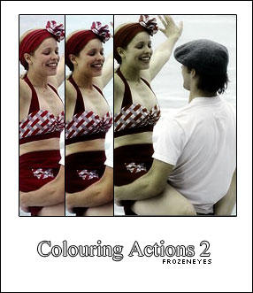 Colouring Actions 2 by AlenaJay