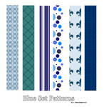 Blue Pattern Set