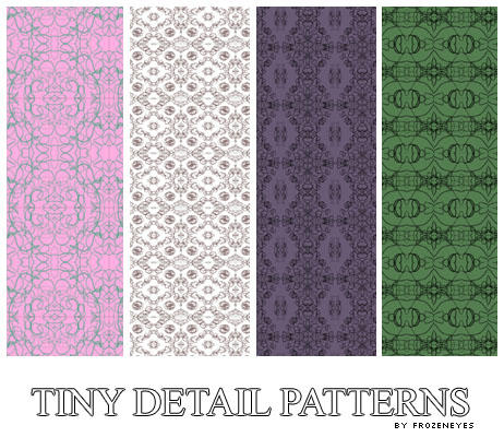 Tiny Detail Patterns by AlenaJay