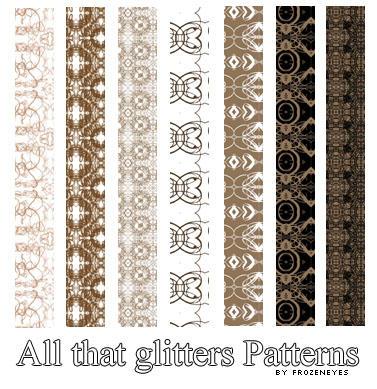 باترنز، باترن للفوتوشوب وللتصاميم ، مكتبة كاملة بروابط مباشرة !! All_That_Glitters_Patterns_by_AlenaJay