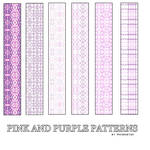 Pink And Purple PS Patterns